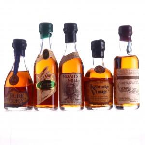 Bourbon Miniature x 5