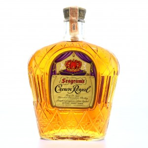 Seagram's Crown Royal 1960 Canadian Whisky