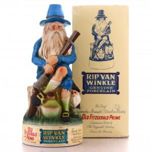 Old Fitzgerald Prime Bourbon Rip Van Winkle Porcelain Decanter 1971 / Stitzel-Weller
