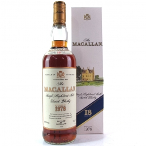 Macallan 18 Year Old 1978