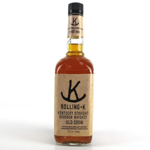Old Crow Rolling-K Bourbon 1980s
