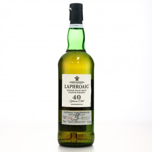 Laphroaig 40 Year Old 75cl / US Import