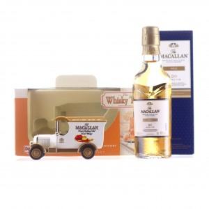 Macallan Gold Double Cask Miniature with Days Gone Van