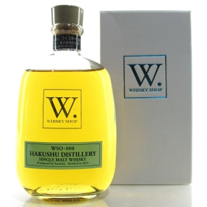 Hakushu Whisky Shop Exclusive WSO-008 30cl