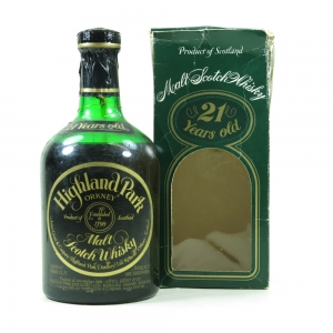 Highland Park 21 Year Old 1980s