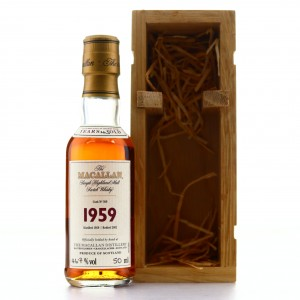 *Macallan 1959 Fine and Rare 43 Year Old #360 Miniature