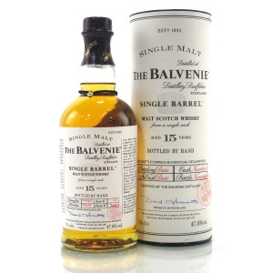 Balvenie 1991 15 Year Old Single Barrel