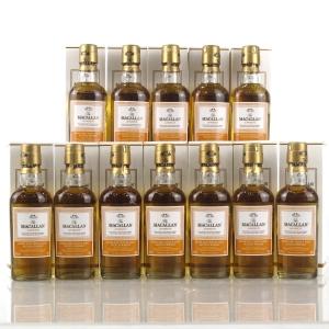 Macallan Amber Miniatures 12 x 5cl