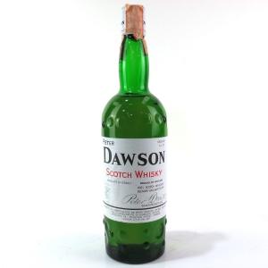 Peter Dawson Scotch Whisky 1980s / Manzuoli Import