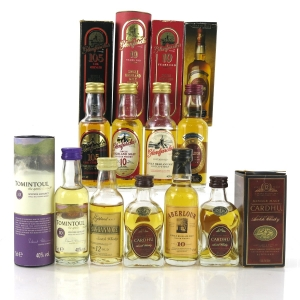 Speyside Miniature Selection / 9 x 5cl