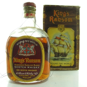King's Ransom 'Around The World' Scotch Whisky 1960s