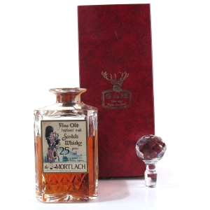 Mortlach 25 Year Old Gordon and MacPhail Decanter / Sestante Import