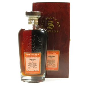 Springbank 1970 Signatory Vintage 37 Year Old Front