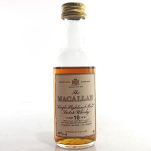 Macallan 10 Year Old Miniature 5cl