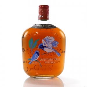 Suntory Old Whisky Bird Bottle