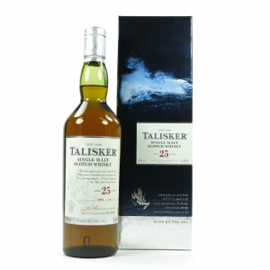 Talisker 25 Year Old 2014 Release Front