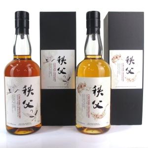 Chichibu 2010 & 2011 Ichiro's Malt Single Casks #2652 & #1293 2 x 70cl / Spirits Shop' Selection