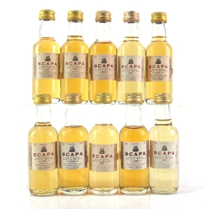 Scapa Vintage Gordon and MacPhail Selection 10 x 5cl