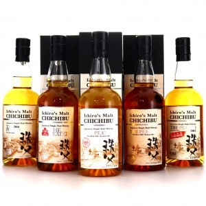 Chichibu The Peated Collection 5 x 70cl