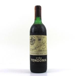 Viña Tondonia Reserva 1982