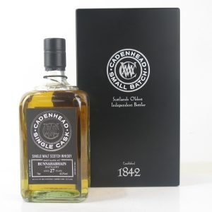 Bunnahabhain 1989 Cadenhead's 27 Year Old / Whiskyfair Takao 2017
