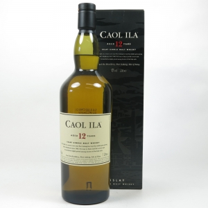 Caol Ila 12 Year Old 1 Litre Front