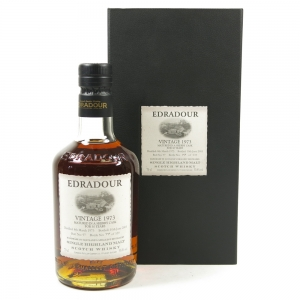 Edradour 1973 Sherry Cask 30 Year Old Front