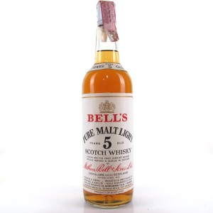 Bell's 5 Year Old Pure Malt Light 1970s