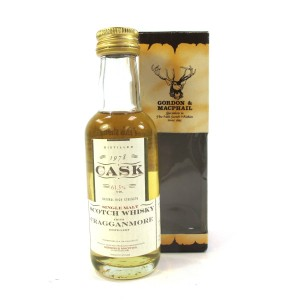 Cragganmore 1978 Gordon and MacPhail Cask Strength Miniature 5cl