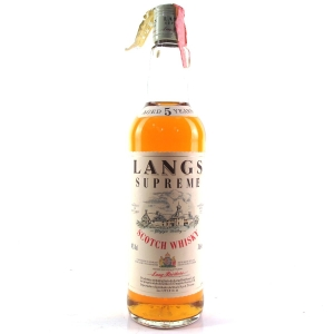 Langs Supreme 5 Year Old / Stock Import