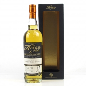Arran 2001 Private Cask 12 Year Old / Bright Early Spring