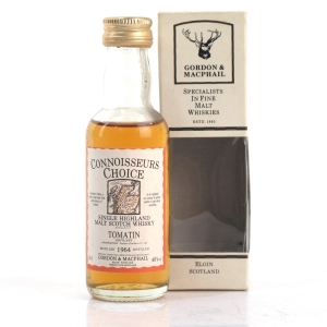 Tomatin 1964 Gordon and MacPhail Miniature 5cl