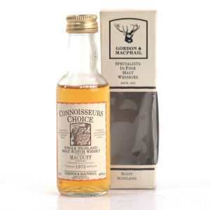 Macduff 1975 Gordon and MacPhail Miniature 5cl