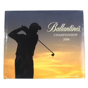 Ballantine's Championship 2008 Hardcover Book