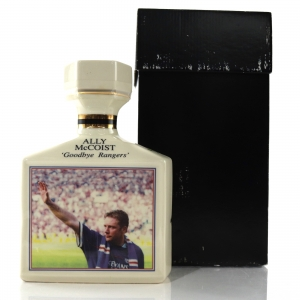 Ally McCoist 'Goodbye Rangers' Pointers Decanter