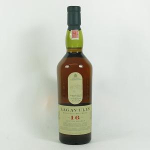 Lagavulin 16 Year Old White Horse Bottling front