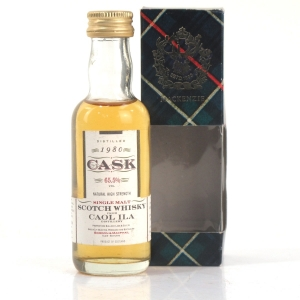 Caol Ila 1980 Gordon and MacPhail Cask Strength Miniature 5cl