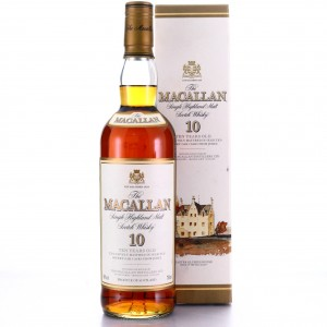 Macallan 10 Year Old early 2000s