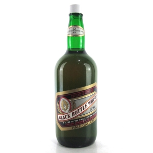 Black Bottle Half Gallon 1970s