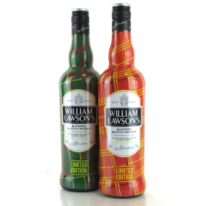William Lawson's Scotch Whisky 2 x 70cl / Tartan Limited Edition