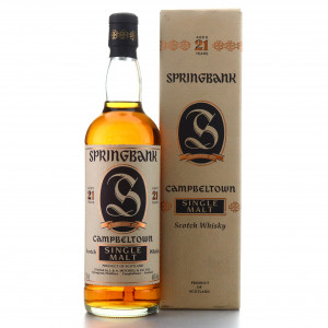 Springbank 21 Year Old 1995 Release