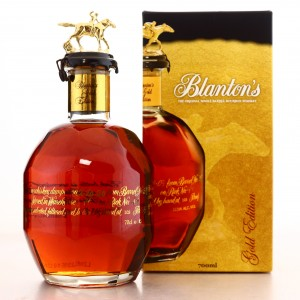 Blanton's Single Barrel Gold Edition Dumped 2020