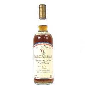 Macallan 12 Year Old Bicentennary French Revolution / Bicentenaire 1789-1989