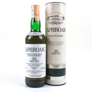 *Laphroaig 10 Year Old 1980s