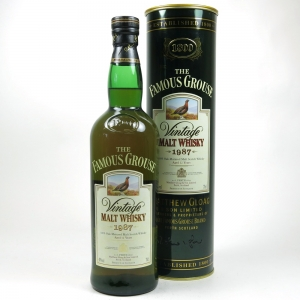 Famous Grouse 1987 Blended Malt 12 Year Front