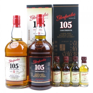 Glenfarclas 105 8 Year Old / Taiwan Exclusive / Batch #1 and #2