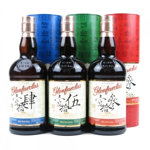 Glenfarclas Sherry Cask Trio Selection / 13 Year Old, 14 Year Old and 15 Year Old