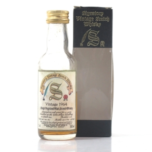 Glen Albyn 1964 Signatory Vintage 25 Year Old Miniature 5cl