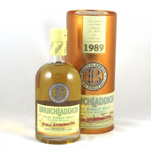 Bruichladdich 1989 Full Strength 13 Year Old - Front