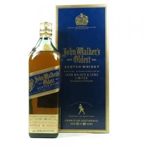 Johnnie Walker Oldest / 15 to 60 Year Old